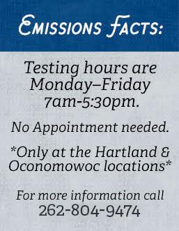 Emission Test Kenosha >> Emissions Testing Hartland Oconomowoc Wi Silver Lake Auto